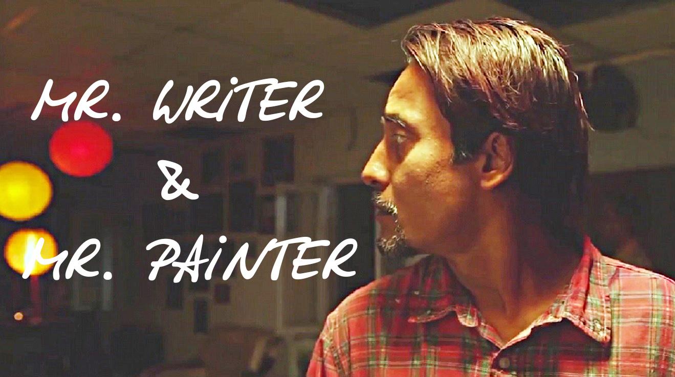 Mr. Writer & Mr. Painter