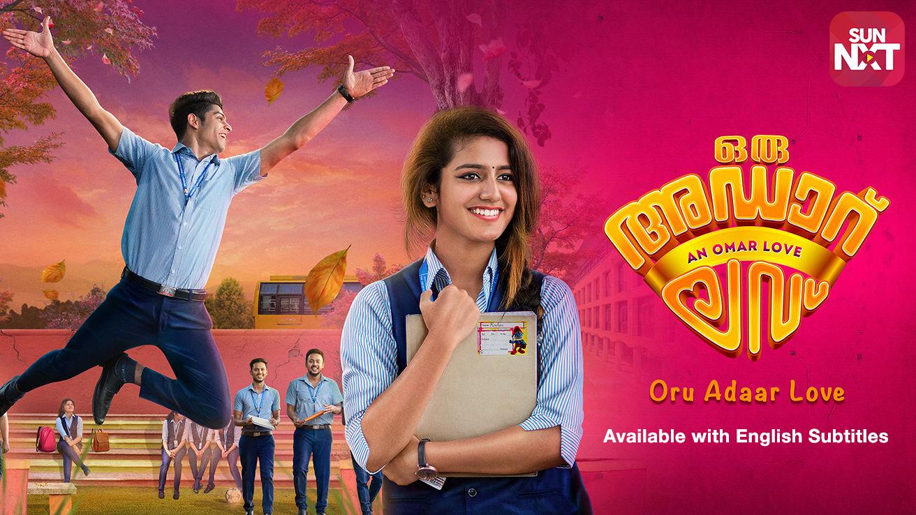 Oru Adaar Love 2019 banner HDMoviesFair