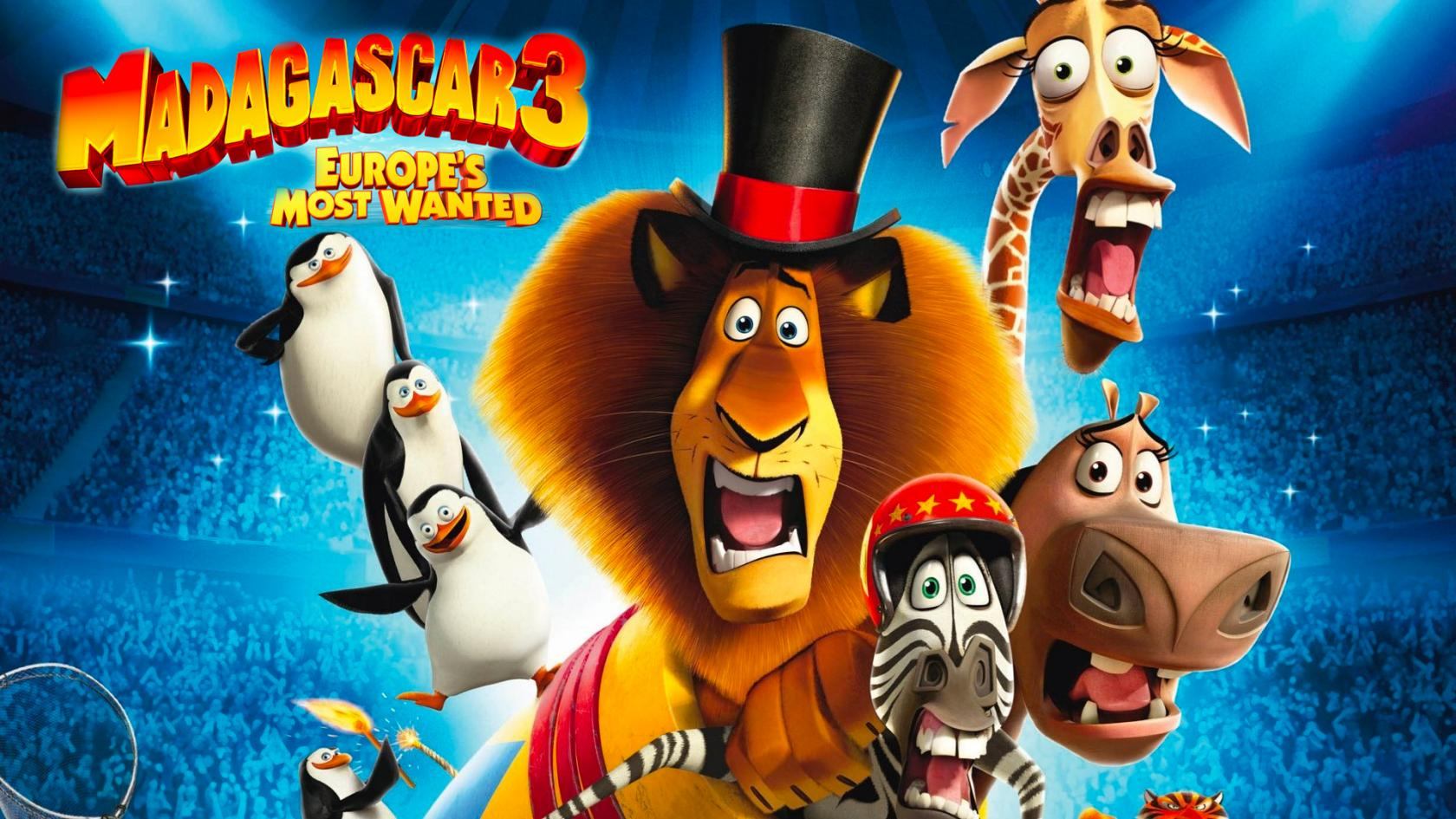Madagascar 3- Europe's Most Wanted